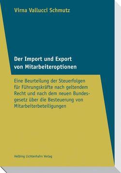 Der Import und Export von Mitarbeiteroptionen von Vallucci Schmutz,  Virna