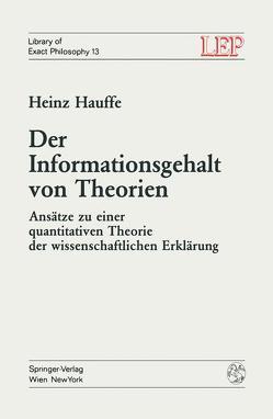 Der Informationsgehalt von Theorien von Hauffe,  H.