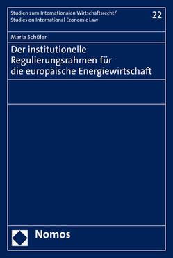 Der institutionelle Regulierungsrahmen für die europäische Energiewirtschaft von Schüler,  Maria
