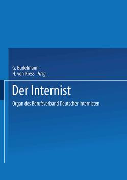 Der Internist von Buchborn,  E., Classen,  M., Dölle,  W., Gross,  R., Loo,  J. van de, Riecker,  G., Scriba,  P. C., Siegenthaler,  W., Wichert,  P. von