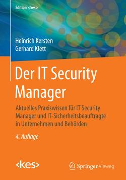 Der IT Security Manager von Kersten,  Heinrich, Klett,  Gerhard