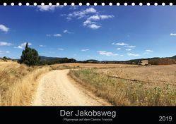 Der Jakobsweg – Pilgerwege auf dem Camino Francés (Tischkalender 2019 DIN A5 quer) von Schütte-Bruns,  René