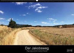Der Jakobsweg – Unterwegs auf dem Camino Francés (Wandkalender 2018 DIN A2 quer) von Schütte-Bruns,  René