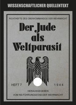 Der Jude als Weltparasit von Otto,  Hans-Georg