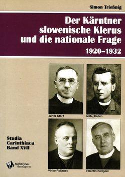 Der Kärntner slowenische Klerus und die nationale Frage 1920-1932 von Triessnig,  Simon