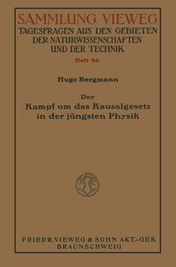 Der Kampf um das Kausalgesetz in der jüngsten Physik von Bergman,  Shemu'el Hugo