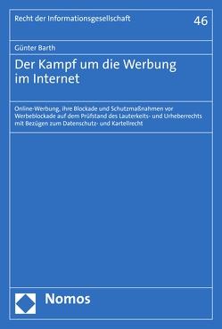 Der Kampf um die Werbung im Internet von Barth,  Günter