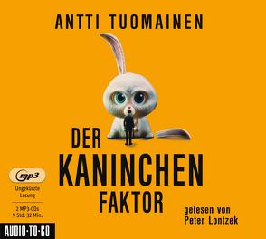 Der Kaninchen-Faktor von Antti,  Tuomainen, Peter,  Lontzek