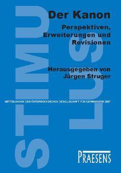 Der Kanon – Perspektiven, Erweiterungen und Revisionen von Struger,  Jürgen