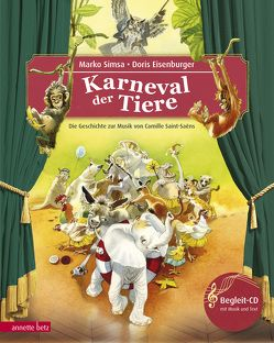 Der Karneval der Tiere von Eisenburger,  Doris, Simsa,  Marko