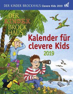 Der Kinder Brockhaus Kalender für clevere Kids – Kalender 2019 von Ahlgrimm,  Achim, Harenberg, Huhnold,  Thomas, Kleicke,  Christine