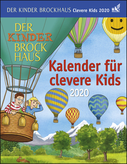 Der Kinder Brockhaus Kalender für clevere Kids Kalender 2020 von Ahlgrimm,  Achim, Harenberg, Huhnold,  Thomas, Kleicke,  Christine