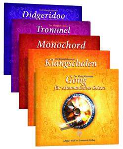Der KlangSchamane: Trommeln, Klangschalen, Monochord, Gong und Didgeridoo für schamanische Reisen von Wulf,  Adalgis