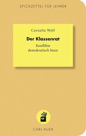Der Klassenrat von Wolf,  Cornelia