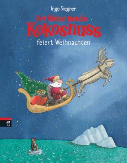 Der kleine Drache Kokosnuss feiert Weihnachten von Siegner,  Ingo