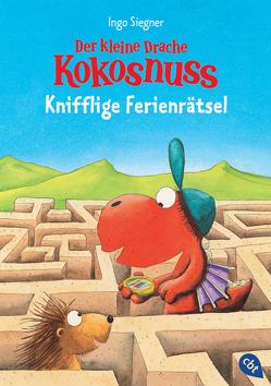 Der kleine Drache Kokosnuss – Knifflige Ferienrätsel von Siegner,  Ingo