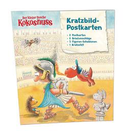 Der kleine Drache Kokosnuss – Kratzbild-Postkarten Set von Siegner,  Ingo