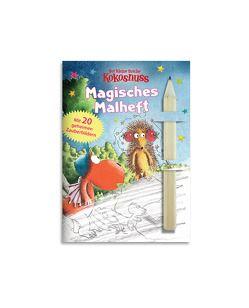 Der kleine Drache Kokosnuss – Magisches Malheft mit Bleifstift von Siegner,  Ingo