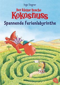 Der kleine Drache Kokosnuss – Spannende Ferienlabyrinthe von Siegner,  Ingo
