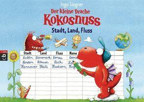 Der kleine Drache Kokosnuss – Spieleblock – Stadt, Land, Fluss von Siegner,  Ingo