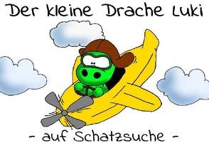 Der kleine Drache Luki auf Schatzsuche von Schönhold,  Tina