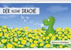 Der kleine Drache (Wandkalender 2018 DIN A3 quer) von Eisendle,  Carmen