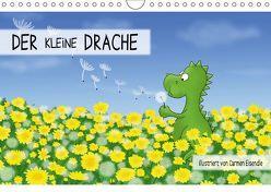 Der kleine Drache (Wandkalender 2018 DIN A4 quer) von Eisendle,  Carmen