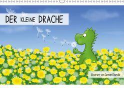 Der kleine Drache (Wandkalender 2019 DIN A3 quer) von Eisendle,  Carmen