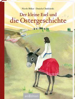 Der kleine Esel und die Ostergeschichte von Büker,  Nicole, Chudzinski,  Daniela
