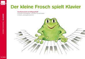 Der kleine Frosch spielt Klavier von Roloff,  Wolfgang