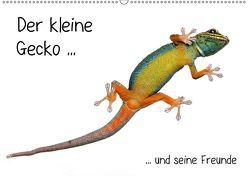 Der kleine Gecko und seine Freunde / CH-Version (Wandkalender 2018 DIN A2 quer) von Eppele,  Klaus