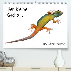 Der kleine Gecko und seine Freunde (Premium, hochwertiger DIN A2 Wandkalender 2021, Kunstdruck in Hochglanz) von Eppele,  Klaus