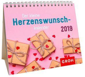 Der kleine Herzenswunschkalender 2019 von Groh Redaktionsteam
