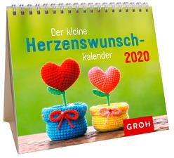 Der kleine Herzenswunschkalender 2020: Mini-Monatskalender von Groh Redaktionsteam