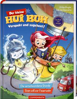Der kleine Hui Buh Verspukt und zugehext! (Bd. 1) von Rogler,  Ulrike, Veenstra,  Simone, Vogler,  Mareikje