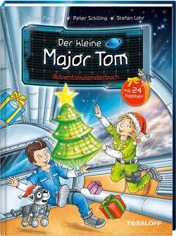 Der kleine Major Tom. Adventskalenderbuch von Flessner,  Bernd, Lohr,  Stefan, Schilling,  Peter, Tessloff Verlag