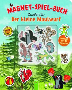 Der kleine Maulwurf Magnet-Spiel-Buch von Miler,  Zdeněk, Teller,  Laura