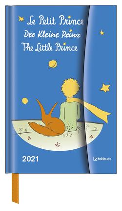 Der Kleine Prinz 2021 – Diary – Buchkalender – Taschenkalender – 10×15 von Saint-Exupéry,  Antoine de