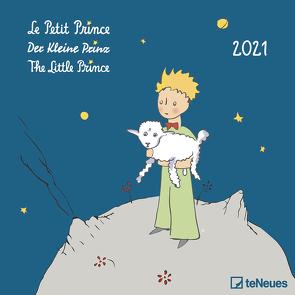 Der Kleine Prinz 2021 – Wand-Kalender – Broschüren-Kalender – 30×30 – 30×60 geöffnet – Kinder-Kalender – Illustrationen von Saint-Exupéry,  Antoine de