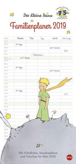 Der Kleine Prinz Familienplaner – Kalender 2019 von Heye
