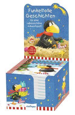 Der kleine Rabe Socke: Alles funkelt! Adventsgeschichten vom kleinen Raben Socke von Moost,  Nele, Rudolph,  Annet