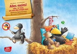 Der kleine Rabe Socke: Alles meins! Kamishibai Bildkartenset. von Moost,  Nele, Rudolph,  Annet
