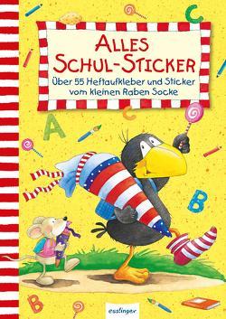 Der kleine Rabe Socke: Alles Schul-Sticker von Rudolph,  Annet