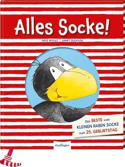 Der kleine Rabe Socke: Alles Socke! Das Beste vom kleinen Raben Socke zum 25. Geburtstag von Moost,  Nele, Rudolph,  Annet