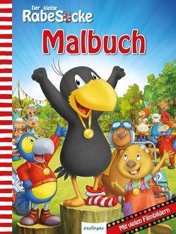 Der kleine Rabe Socke, Das große Rennen – Malbuch; VE 5 Expl. von Akkord Film Produktion GmbH