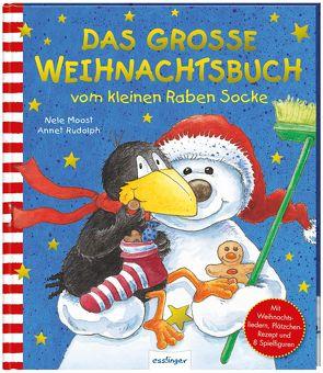 Der kleine Rabe Socke: Das große Weihnachtsbuch vom kleinen Raben Socke von Moost,  Nele, Rudolph,  Annet