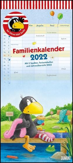 Der kleine Rabe Socke Familienkalender 2022 – Wandkalender – Familienplaner mit 5 Spalten – Format 22 x 49,5 cm von Moost,  Nele, Rudolph,  Annet
