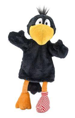 Der kleine Rabe Socke: Handpuppe 30 cm von Rudolph,  Annet