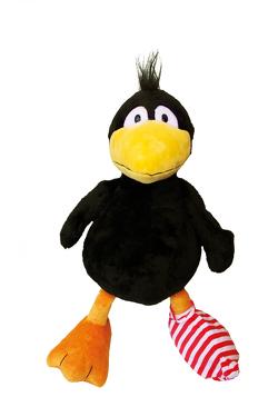 Der kleine Rabe Socke: Kleiner Rabe Socke Plüschfigur von Rudolph,  Annet