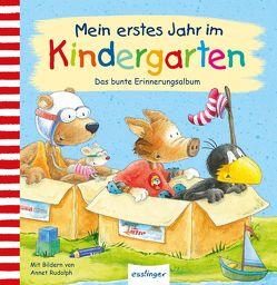 Der kleine Rabe Socke: Mein erstes Jahr im Kindergarten von Rudolph,  Annet